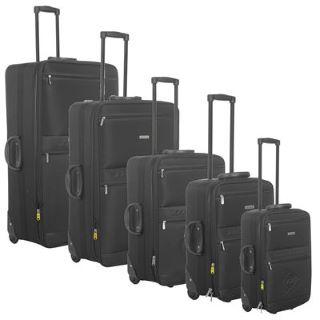 Juego de 5 maletas Trolley Dunlop por 54 €