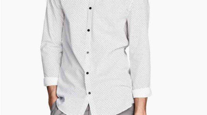 Camisa de planchado fácil por 9.99 € puesta en casa!