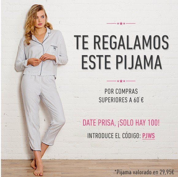 Chollo – Pijama de women'secret gratis!!