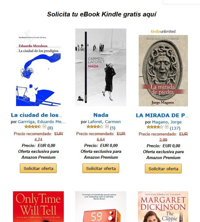 Chollazo! un ebook kindle gratis!!! por 0 €
