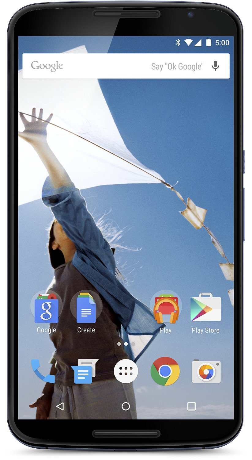 Chollazo! Google Nexus 6 por 379 €