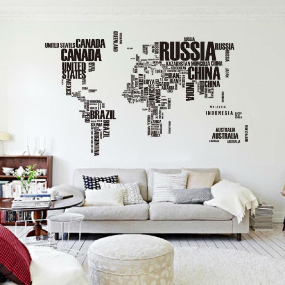 vinilo mapa del mundo barato