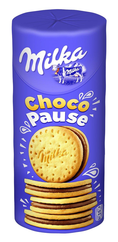 Chollazo 9 paquetes de galletas Milka con chocolate por 10,79 € en vez de 28,64 €