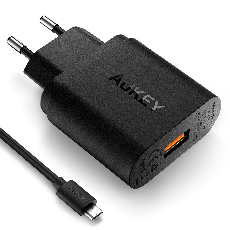 Review Cargador Aukey Quickcharge