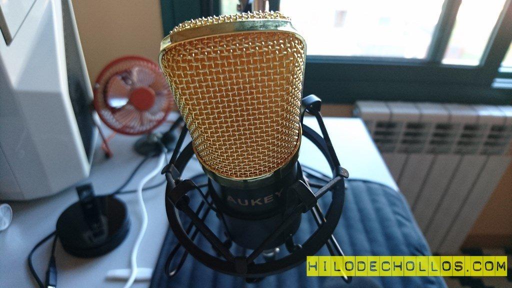 Video Review Micrófono profesional AUKEY GD-G1