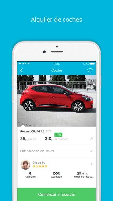 30 € gratis para alquilar un coche con amovens