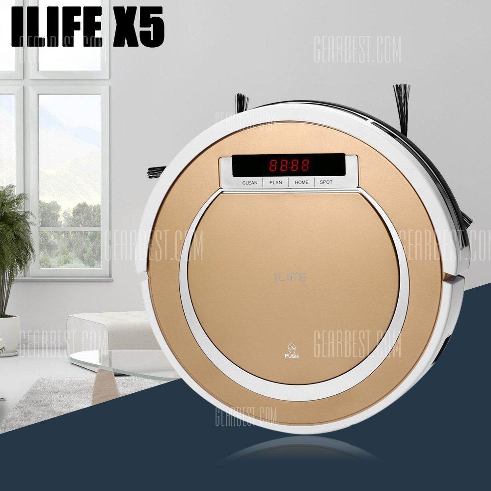 ILIFE X5 Smart Robotic Vacuum Cleaner