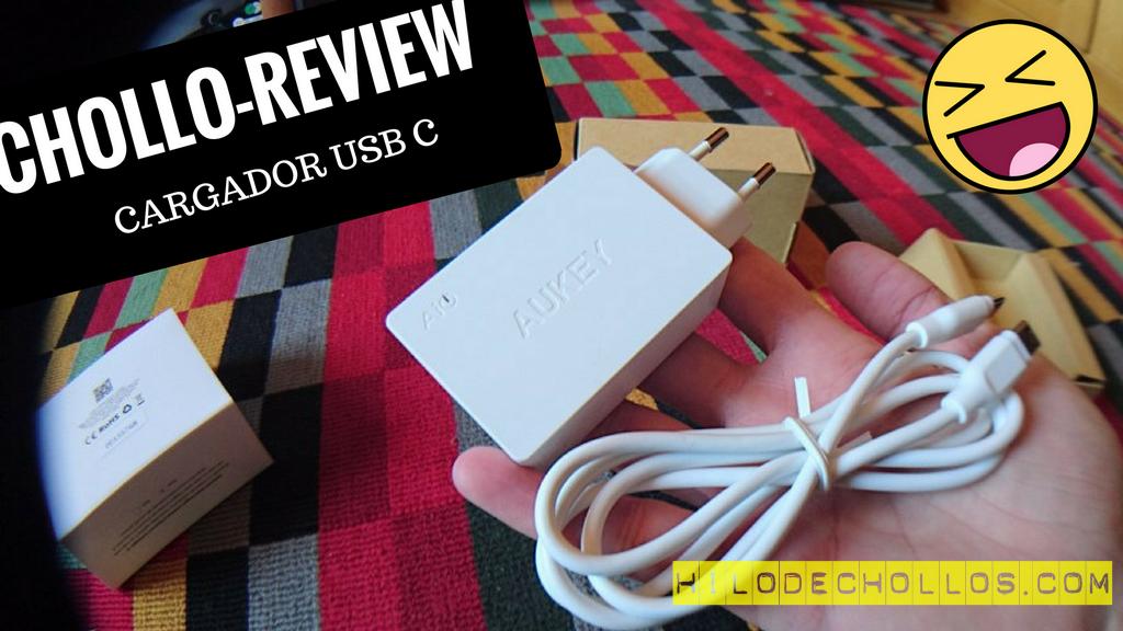Chollo review Cargador USB C de aukey