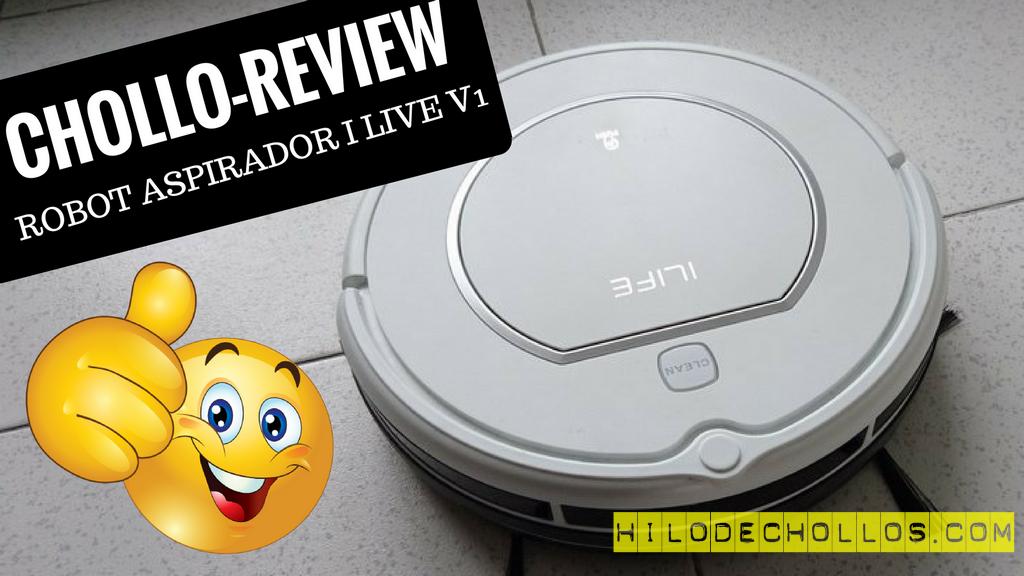 Chollo review Robot aspirador Ilife V1