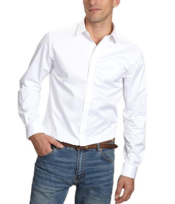 Rebajas! Camisa blanca de 40 € a 17,95 € Jack & Jones Andrew