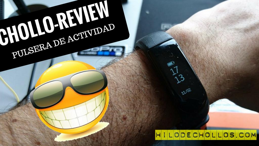 Chollo review Pulsera de Actividad Física y Ritmo Cardiáco de Omorc