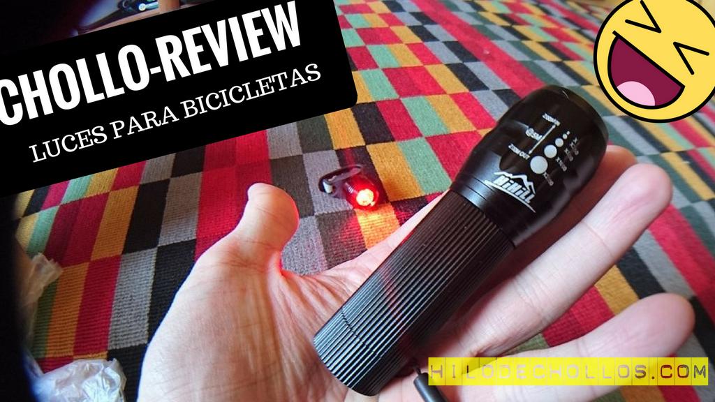 Chollo review luces para bicicletas HiHill