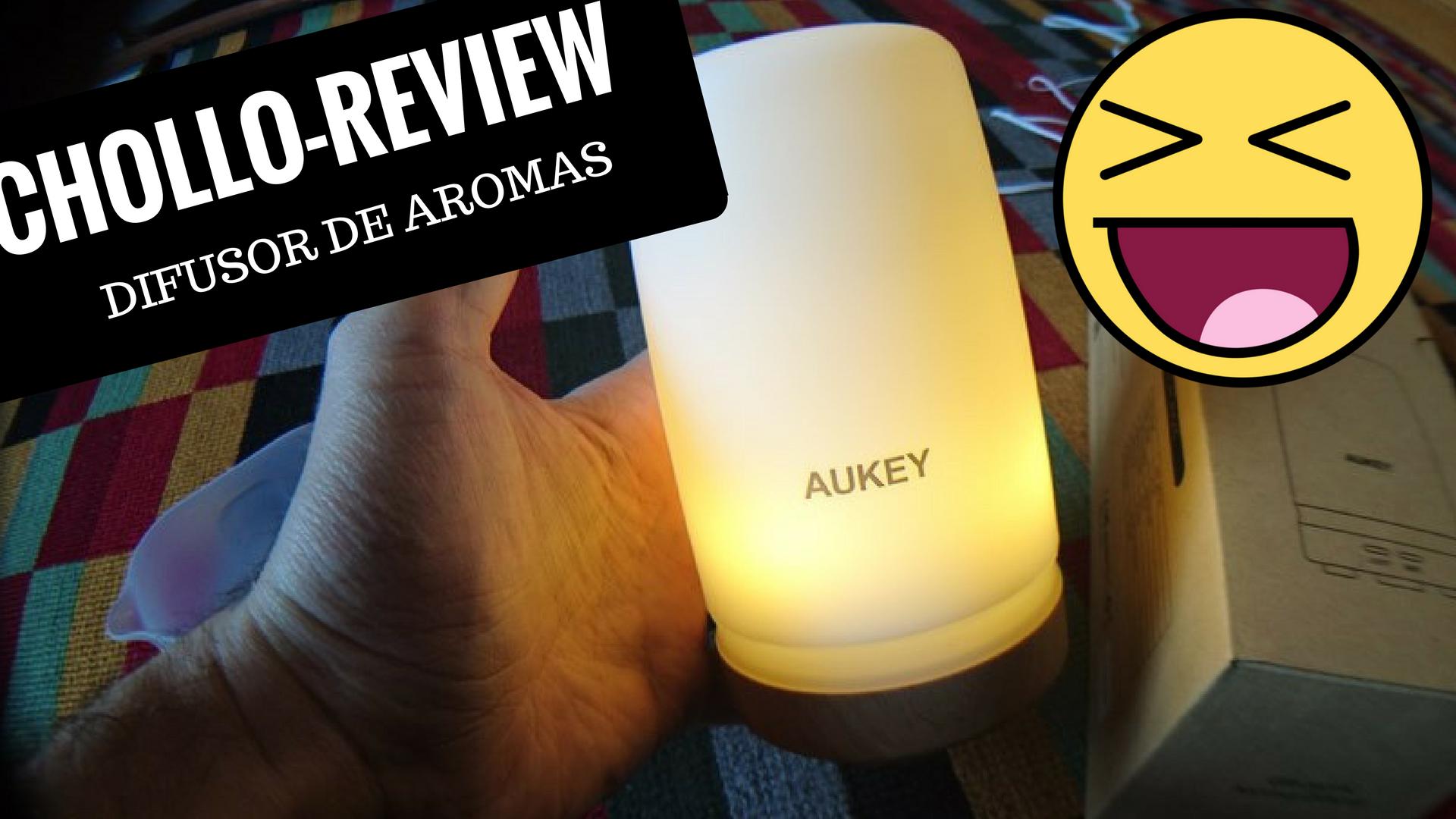 Chollo review Difusor de Aroma 100ML LED Aukey