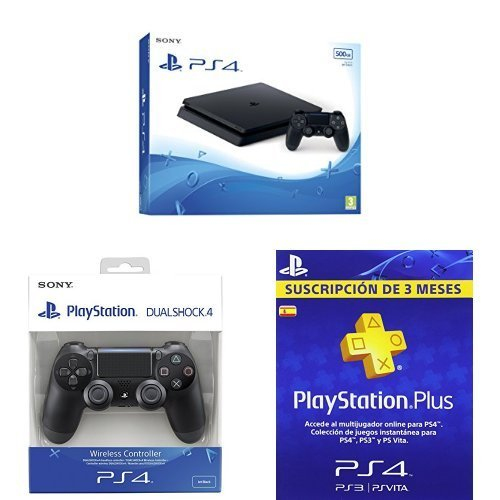 Super oferta! PS4 Slim + 2 dualshocks + PSN sólo 249€!