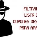 FILTRADA lista de cupones descuento