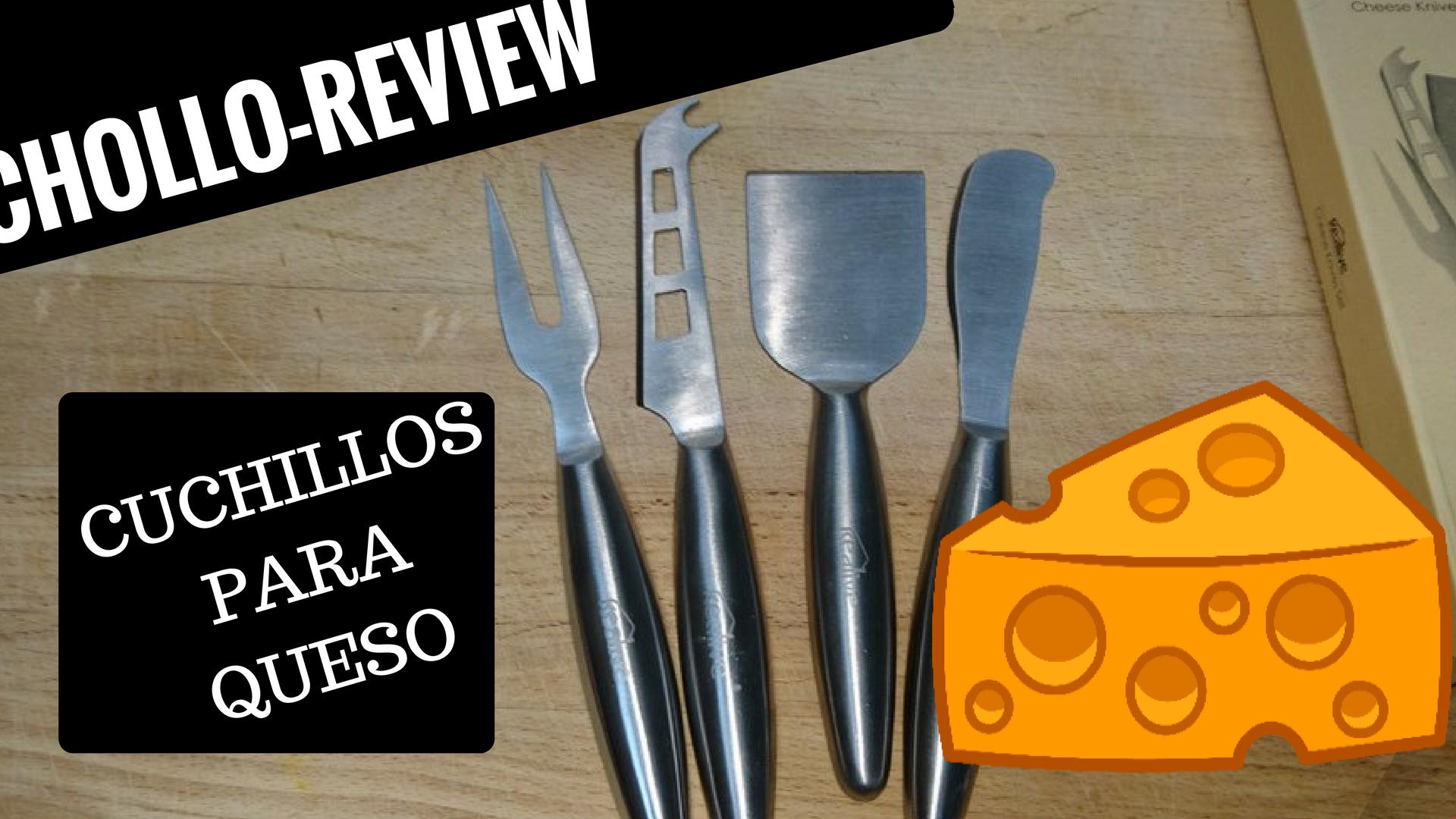 Super kit de cuchillos para cortar queso chollo review - Cuchillo cortar queso ...