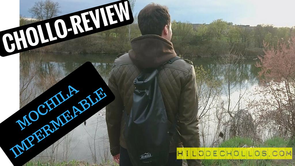 Chollo review bolsa impermeable con interfaz de audio HiHill