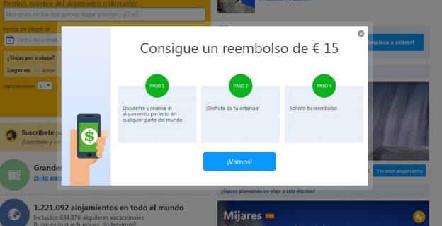 15 € de descuento para booking! vacaciones baratas!
