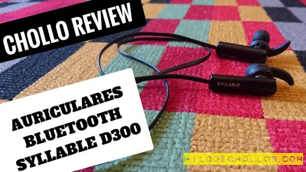 Lleva tu música a todas partes con estos auriculares in ear bluetooth Syllable D300