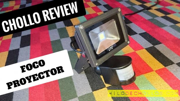 Super precio Foco proyector con sensor de movimiento 10 W