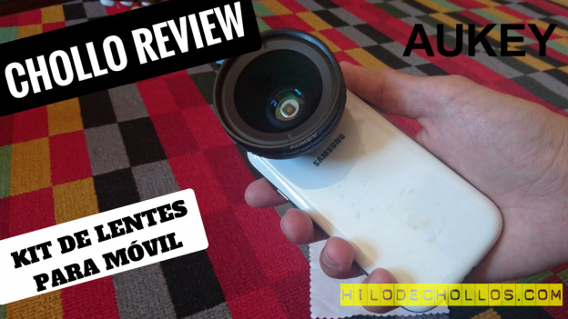 Mejora las fotos de tu móvil con este kit de lentes de Aukey