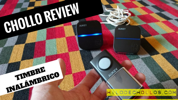 Chollo review timbre inalámbrico de Aukey – multitud de melodías
