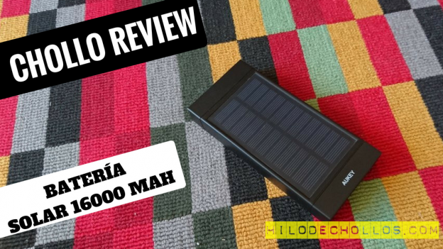 Si buscas una batería que se recarga con energía solar, aquí está!
