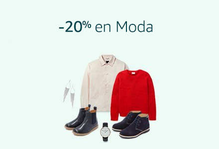 Chollazo black friday 20 % en moda