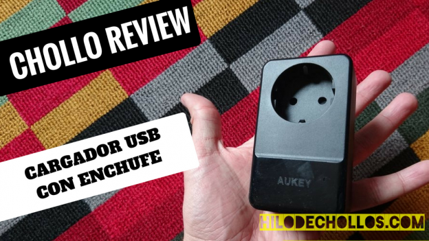 Chollo review cargador USB 4 puertos con enchufe incluido Aukey!