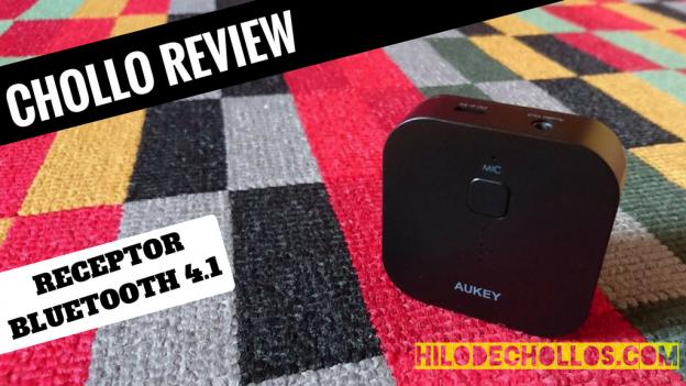 Cómo funciona un receptor bluetooth 4.1 Review Aukey