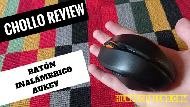 Super mini ratón inalámbrico de Aukey! y super barato!