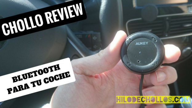 Con este aparato puedes tener bluetooth en tu coche, música y llamadas