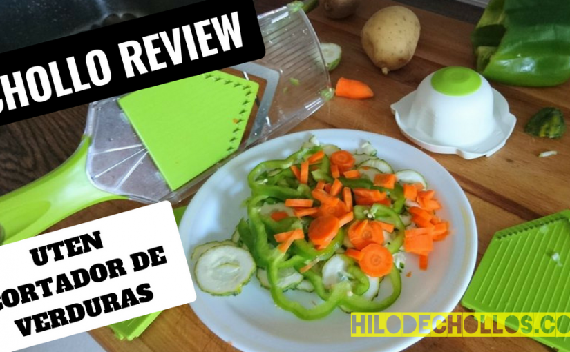 Uten – Necesitas un cortador de verduras tan práctico como este en tu cocina