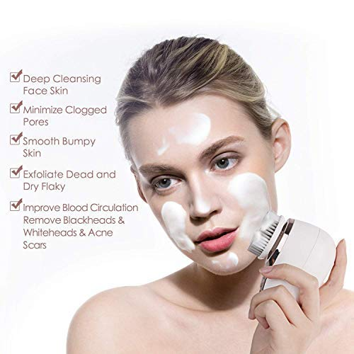 50 % de descuento en otro cepillo eléctrico de limpieza facial!