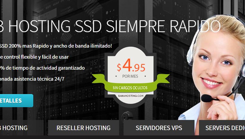 El mejor y más barato hosting para subir tus páginas webs a internet