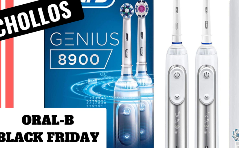 Chollos de Cepillos de dientes Oral-B en amazon por Black Friday