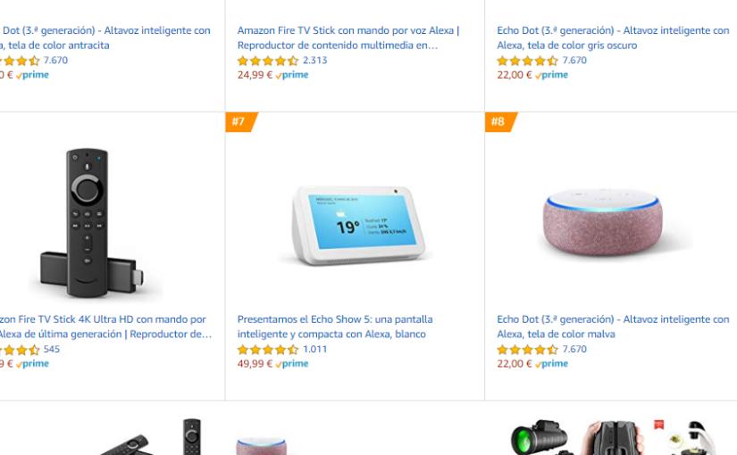 Estos son los productos más vendidos por amazon este black friday y siguen a precios rebajados