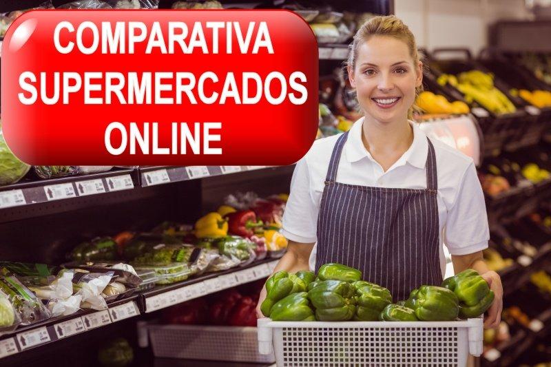 COMPARATIVA SUPERMERCADOS ONLINE ESPAÑA